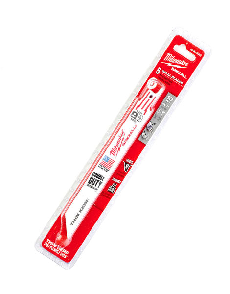 MILWAUKEE  SAWZALL 150MM 10TPI  METAL BLADES 5PK 48005092