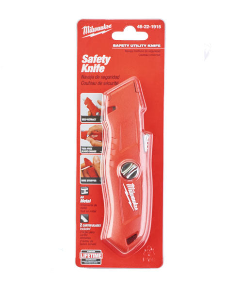 MILWAUKEE SELF-RETRACTING SAFETY KNIFE 48221915