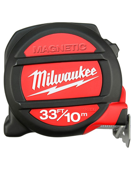 Milwaukee 10m/33ft Measuring Tape with Magnetic Tip 48225233