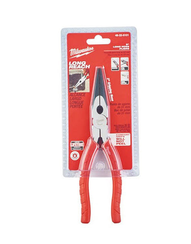 Milwaukee 200mm (8in)Long Nose Pliers Capacity 68mm 48226101