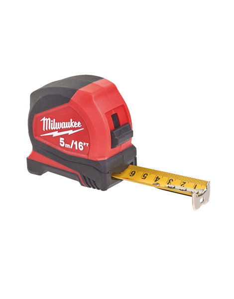 Milwaukee 5m/16ft Pro Compact Tape Measure 48226617