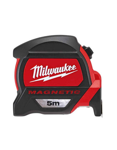 Milwaukee 5m Measuring Tape with Dual Magnetic Hook and Architect Scale 48227305