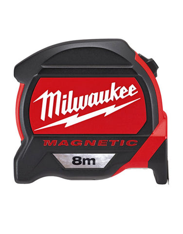 Milwaukee 8m Measuring Tape Dual Magnetic Architect Scale 48227308