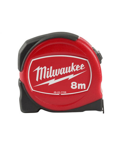 MILWAUKEE 8M NEW SLIMLINE TAPE MEASURE 48227708
