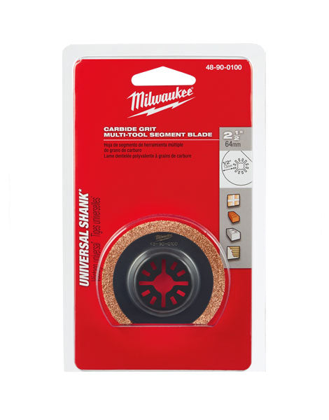 Milwaukee Carbide Grit Multi Tool Blade 64mm 48900100