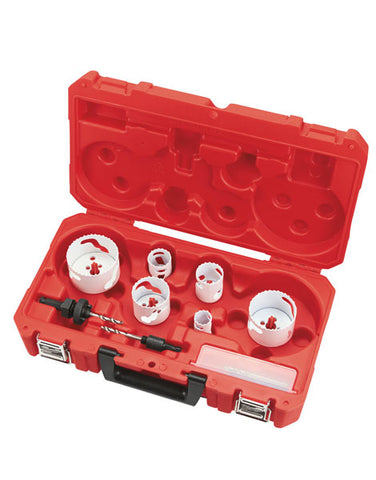 Milwaukee 10 Piece 25mm-76mm Holesaw Set  49224201