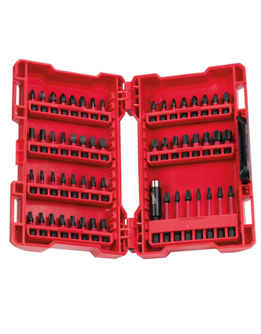 MILWAUKEE GEN 3 SHOCKWAVE IMPACT DRILL DRIVING SET 56PIECE 4932430907