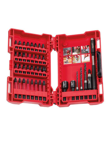 MILWAUKEE GEN II SHOCKWAVE IMPACT DRILL DRIVING SET 40PIECE 4932430908SET 40PIECE 4932430908