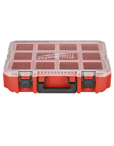 MILWAUKEE 10 SECTION JOBSITE FIXINGS ORGANISER CASE 4932451416