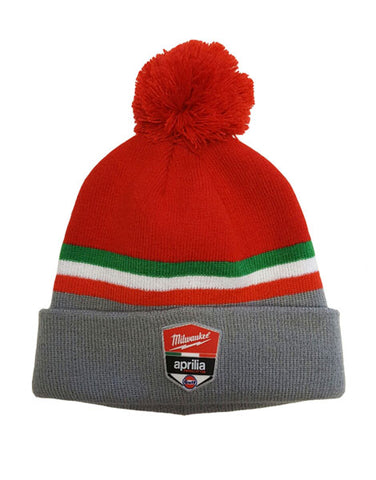 Milwaukee Aprilia Team Official Beanie Hat 2018