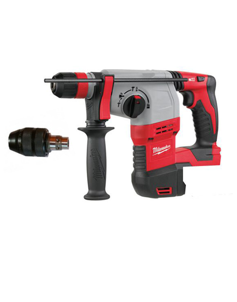 MILWAUKEE HD18HX-0 18V SDS+ CORDLESS HAMMER DRILL + QUICK CHANGE CHUCK BODY ONLY