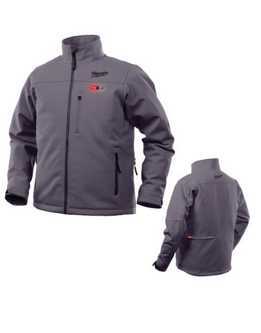 Milwaukee M12HJGREY-0 12v Premium Heated GREY Jacket Large Naked Version