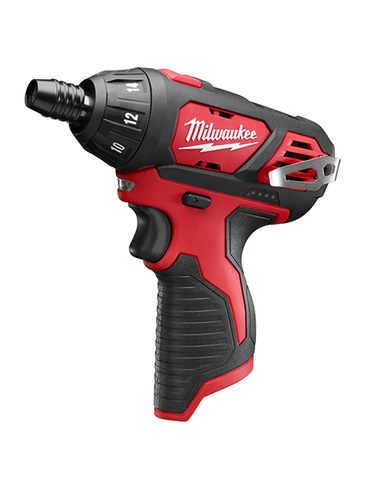 "Milwaukee M12BSD Sub Compact Single Speed Drill 1/4"" Hex"