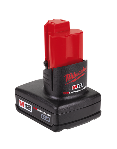 Milwaukee M12BX M12 3.0Ah Red Lithium-Ion Battery