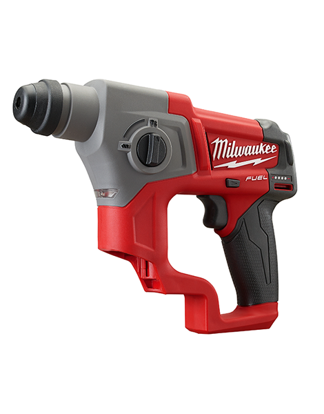 Milwaukee M12CH-0 New Fuel Brushless 12v SDS+ Hammer Drill Body Only