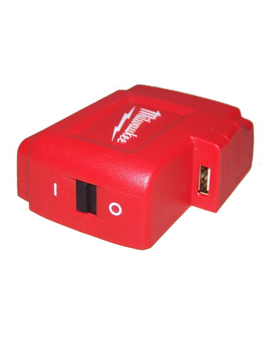 Milwaukee M18 18V Lithium-Ion USB Power Port for Mobile Phone Heated Jacket
