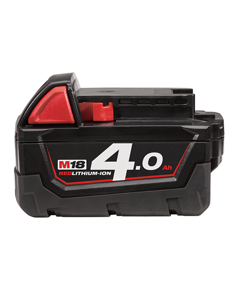 Milwaukee M18 Range M18B4 18 Volt 4.0ah Red Lithium Ion Li-on Battery