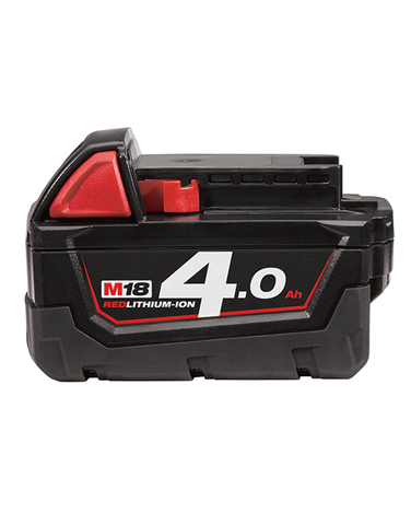 Milwaukee M18 M18B4 18v 18 Volt 4.0ah Red Lithium Ion Li-on Battery