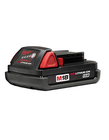 MILWAUKEE M18B 18V 1.5AH RED LI-ION LITHIUM BATTERY