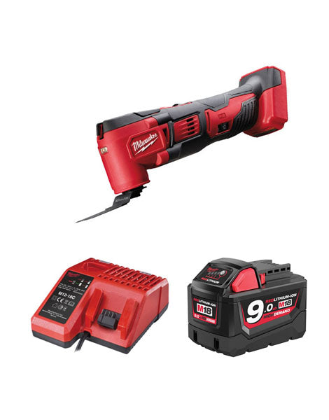 MILWAUKEE M18BMT-901 M18 18V COMPACT MULTI TOOL 1 x 9AMH BATTERY + CHARGER