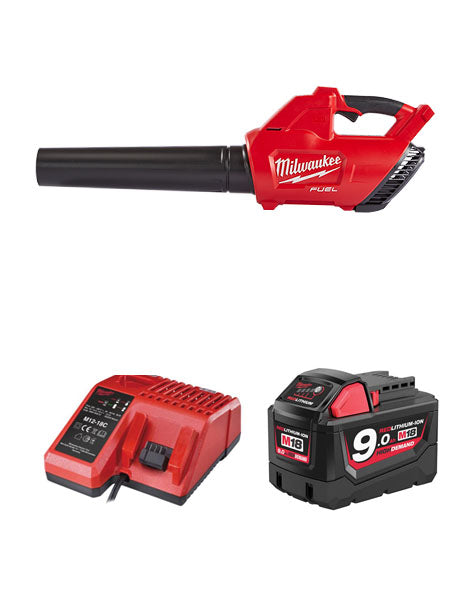 MILWAUKEE M18CBL-901 M18 FUEL BLOWER 1 x 9AMH BATTERY + CHARGER