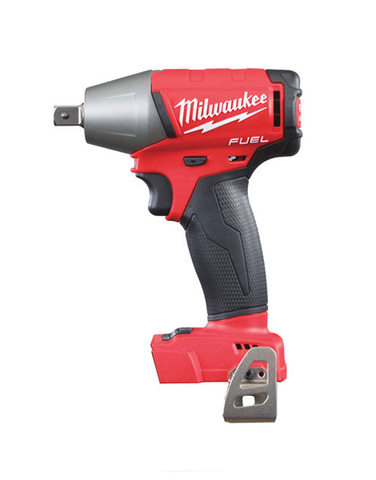 MILWAUKEE M18FIWP12-0 FUEL 2 18V 1/2 INCH PIN DENT IMPACT WRENCH BODY ONLY UNIT