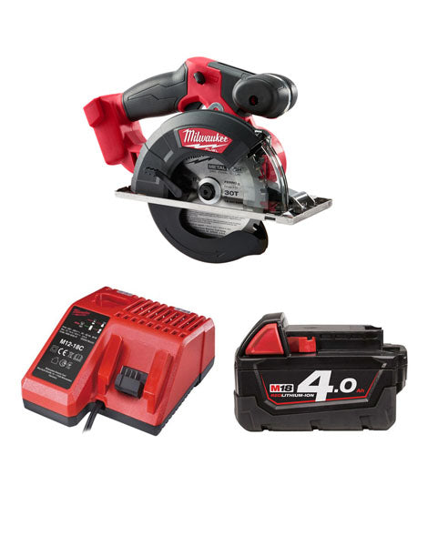 Milwaukee M18FMCS-401 18v 150mm Fuel Metal Saw 1 x 4amh Battery + Charger