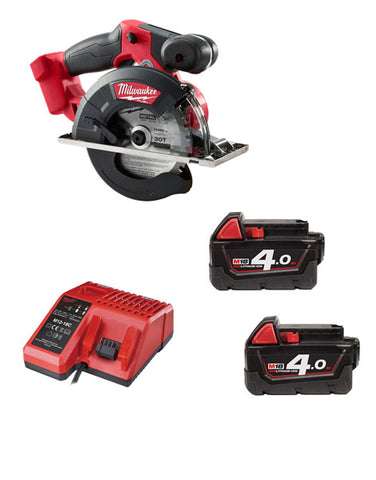 Milwaukee M18FMCS-402 18v 150mm Fuel Metal Saw 2 x 4amh Batteries + Charger