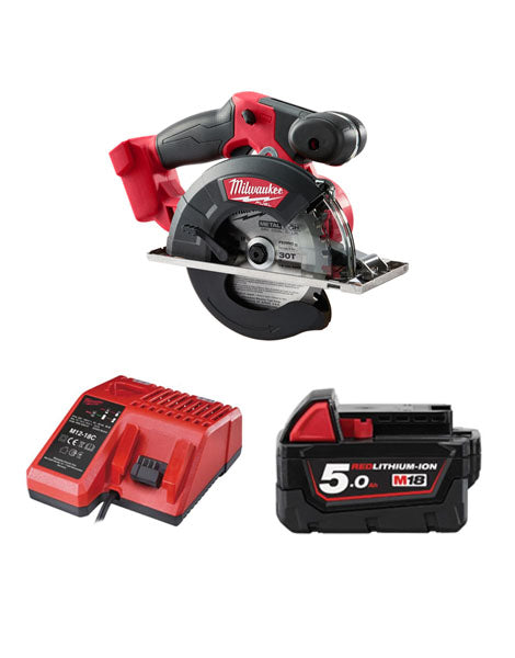 Milwaukee M18FMCS-501 18v 150mm Fuel Metal Saw 1 x 5amh Battery + Charger