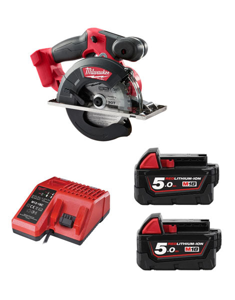 Milwaukee M18FMCS-502 18v 150mm Fuel Metal Saw 2 x 5amh Batteries + Charger