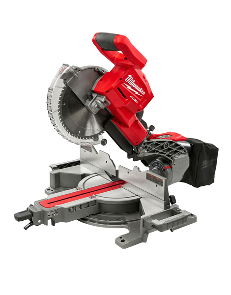 MILWAUKEE M18FMS254-0 M18 CORDLESS FUEL DOUBLE BEVEL MITRE SAW BODY ONLY
