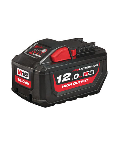 Milwaukee M18HB12 18v 12.0Ah Red-Li High Output Battery