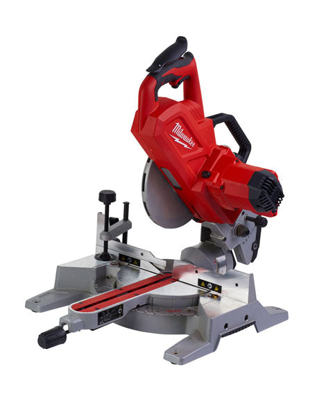 MILWAUKEE M18SMS216-0 M18 CORDLESS 216MM SLIDING MITRE SAW BODY ONLY