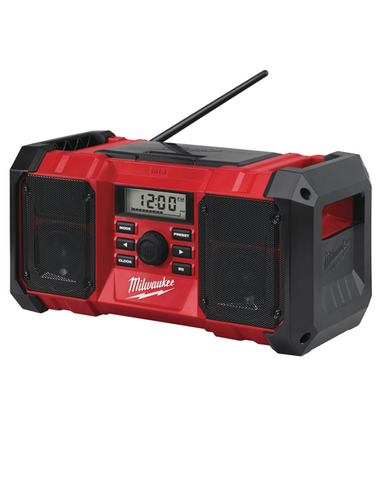 Milwaukee M18JSR 18v AM FM Job Site Radio