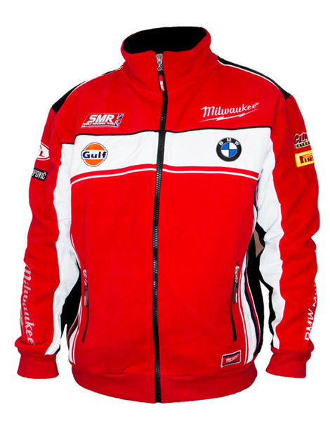 Milwaukee BMW Fleece Jacket World Superbikes Official 2016 Team Large