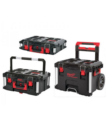MILWAUKEE PACKOUT 3 PIECE TOOLBOX SYSTEM 4932464244