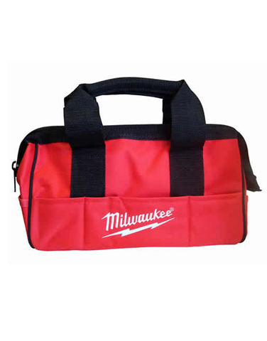 "MILWAUKEE 13"" 6 POCKET TRADESMAN CANVAS BAG"
