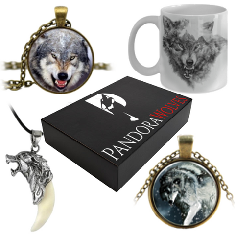 Elite Monthly Subscription Box - (Fierce Wolf of the Month Of May Box)