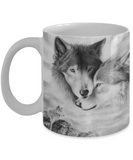 Couple Wolf Coffee Mug
