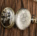 Howling Wolf Pocket Watch