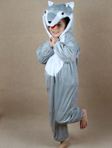 Children Wolf Costume