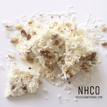 White Chocolate Coconut Brittle