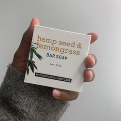 Hemp Seed & Lemongrass Bar Soap