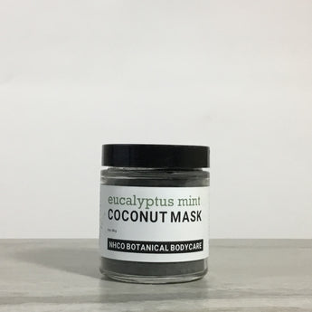Coconut Shell Charcoal Mask - NHCO Botanical Bodycare