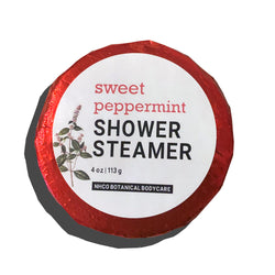 Sweet Peppermint Shower Steamer - NHCO Botanical Bodycare