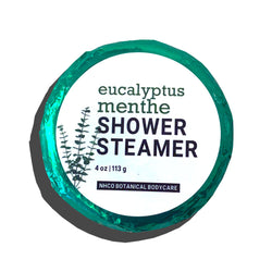 Eucalyptus Menthe Shower Steamer - NHCO Botanical Bodycare