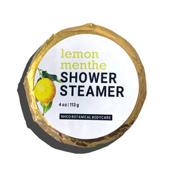 Lemon Menthe Shower Steamer - NHCO Botanical Bodycare