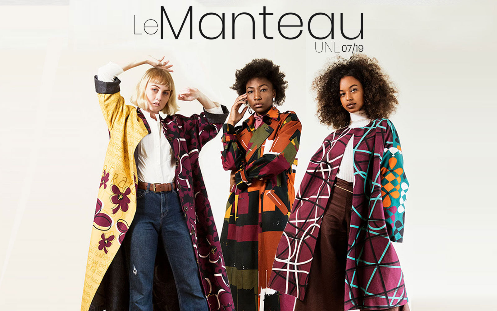 Le Manteau-UNE-0719 Collection | Lookbook