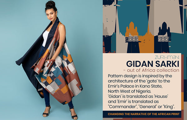 Surface Pattern Textile Design-Gidan Sarki-Made in Africa-ZURI and IMANI