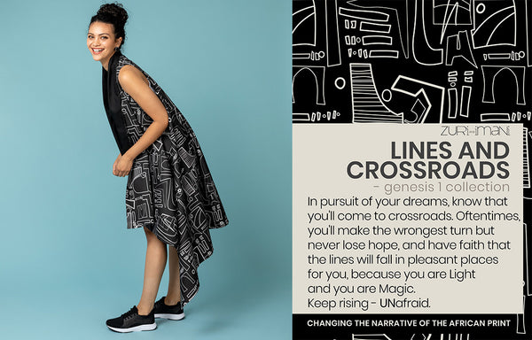 Surface Pattern Textile Design-Lines and Crossroads-Made in Africa-ZURI and IMANI